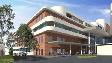 Renderings of the proposed development to Concord Hospital.