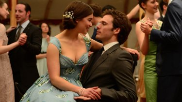 Emilia Clarke and Sam Claflin in <i>Me Before You</i>.