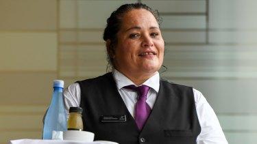 Housekeeper Teremoana Tangata suffers from serious arthritis.