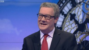 Australia's High Commissioner in London Alexander Downer.