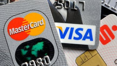 Australians spent about $30 billion on credit cards in December.