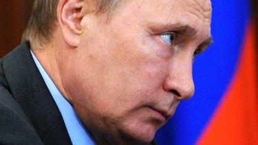 Russian President Vladimir Putin .