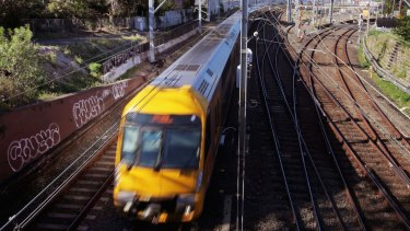 Patronage soared by 11 per cent on Sydney's train network last year.