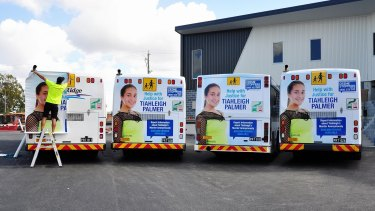 Council buses to roll out to help catch those responsible for Tiahleigh's death.