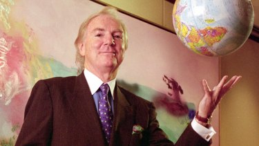 Former Heinz chairman Tony O'Reilly spent a lot of timing travelling the globe.