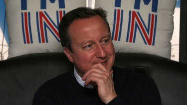 British Prime Minister David Cameron may have his job riding on the outcome of Thursday's vote.