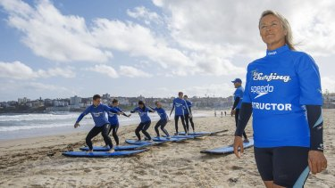 Lets Go Surfing surf school director Brenda Miley says the lower dollar is great for businesses targeting tourists.