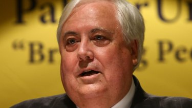 Queensland Nickel Pty Ltd donated about $21 million to Clive Palmer's Palmer United Party.