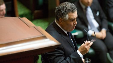 Former speaker Telmo Languiller is taking sick leave from parliament for one month.
