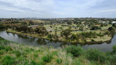 These 127 hectares of contaminated land on the Maribyrnong River could be developed soon.