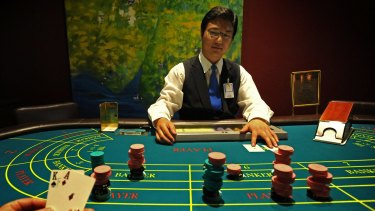 Baccarat is the game of choice for wealthy Asian high-rollers.