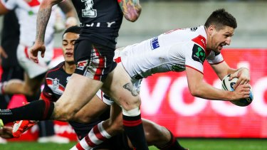 Good form: Gareth Widdop.