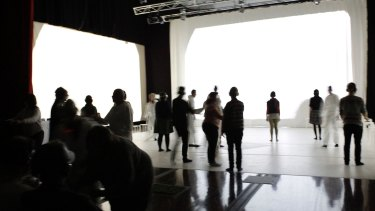 Imagined Touch is part theatre, part installation.