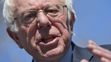 Democrat presidential candidate Bernie Sanders is making party leaders take note of his policies.