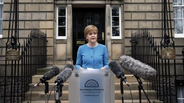 Scotland's First Minister Nicola Sturgeon says her government will open direct talks with the EU.