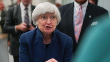 "Federal Reserve chair Janet Yellen said her ""best guess"" was prices would accelerate soon."