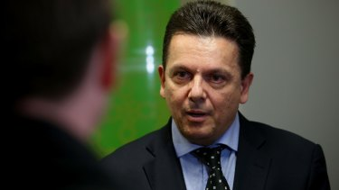 """""""I've brought the big parties together – their duopoly is under attack."""": Nick Xenophon."""