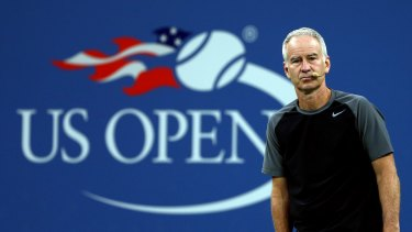 Tennis legend John McEnroe said Williams was an 'incredible player' but not the best in the world.