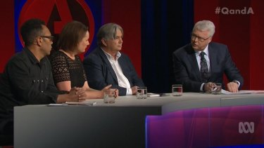 Host Tony Jones speaks to Sussan Ley about the Coalition's asylum seeker policy.