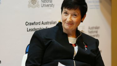 Jennifer Westacott, chief executive of the Business Council Australia, is reluctant to campaign on behalf of the government.