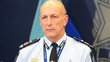 """Queensland Police Service Deputy Commissioner Steve Gollschewski: """"This is not about race or religion."""""""