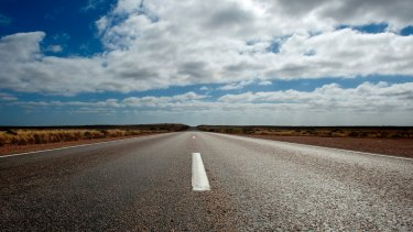The Triffids track: the beautiful monotony of Eyre Highway near the Western Australian border