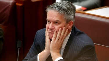 "Acting Special Minister of State Mathias Cormann remained ""very confident"" the survey was legal."