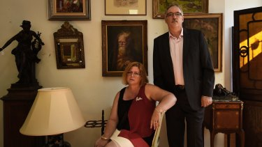 Colleen and Colin Vickers had $15,000 taken from their bank account.