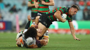 Sam Burgess insists South Sydney will work their way out of a form slump.