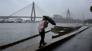 More rain is forecast to drench Sydney on Wednesday.