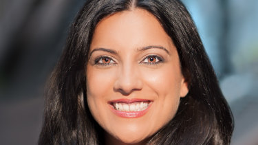 Reshma Saujani, founder and chief executive officer of Girls Who Code.