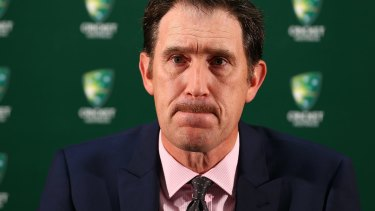 Email warning: Cricket Australia CEO James Sutherland has told players they would not be paid beyond June 30 unless they accepted an overhaul of player remuneration.