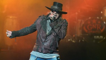 Axl Rose with AC