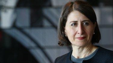 Treasurer Gladys Berejiklian.
