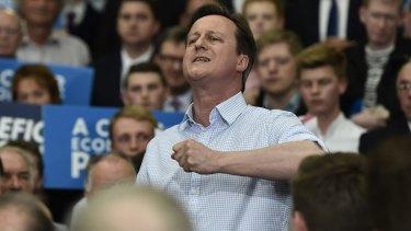 David Cameron: Set to return to office.