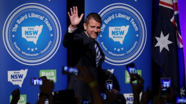 NSW Premier Mike Baird may be paying close attention to the effect of voter ID laws on the US election result.