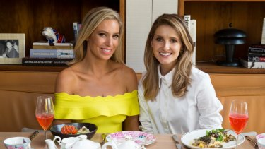Kathryn Eismann and Kate Waterhouse at the Hotel Centennial in Woollahra.