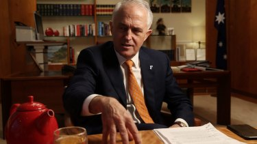 Prime Minister Malcolm Turnbull is governing like a centre-right leader should, says his predecessor Tony Abbott.