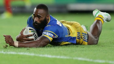 """He's going to one of the biggest clubs in the world"": Jarryd Hayne has backed Semi Radradra's decision to pursue a career in rugby union."