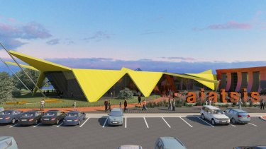 ARM's proposal for the Australian Institute of Aboriginal and Torres Strait Islander Studies in Canberra pays homage to Ron Robertson-Swann's <i>Vault</i>.