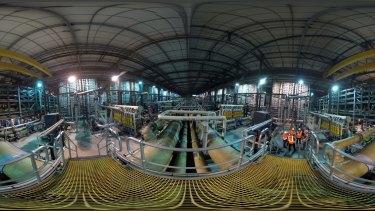 "Inside the Wonthaggi desalination plant, ""the biggest white elephant in Australia's history""."