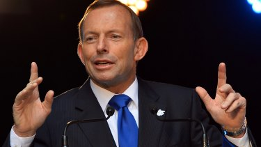 Ms Credlin insists Mr Abbott is not seeking to make a comeback to the top job.