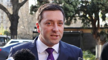 Matthew Guy is planning to resurrect the East West Link.