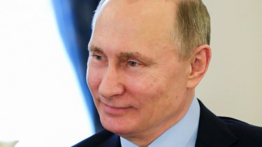 Russian President Vladimir Putin: His country has been busy in other nations' elections.