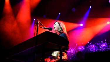Missy performing with the Tasmanian Symphony Orchestra in October last year.