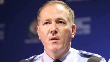 NSW Police Commissioner Mick Fuller has been accused of failing to investigate a discrimination claim against gay police officers.