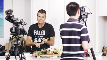 "Chef Pete Evans has called himself a ""warrior"" for the Paleo diet."