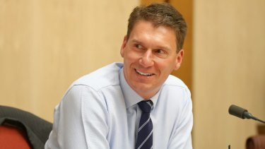 """Senator Cory Bernardi doesn't want GST revenues to go to """"wasteful states""""."""