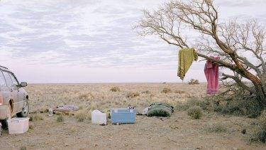 Camp, near William Creek, South Australia, 2012.