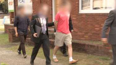 Chan Han Choi was arrested at his Eastwood apartment at the weekend.
